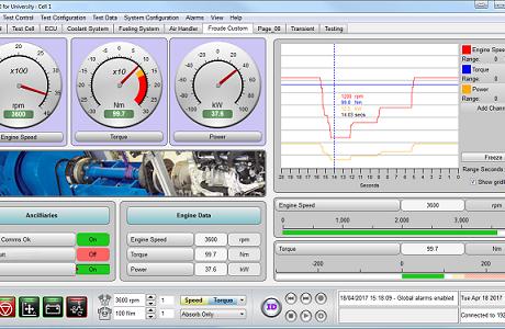 Система управления и контроля загрузки гидротормоза Texcel V12 PRO