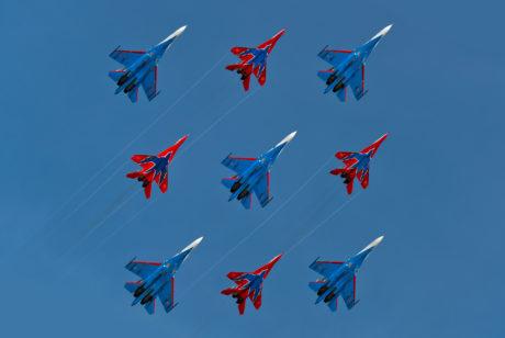 С праздниками, Днём ВКС и Днём Воздушного Флота России!